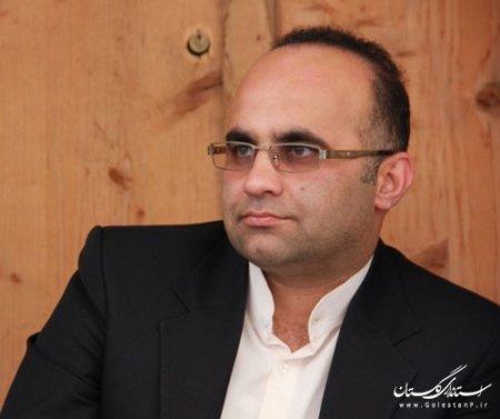 علی نصیبی مشاور جوان استانداری گلستان