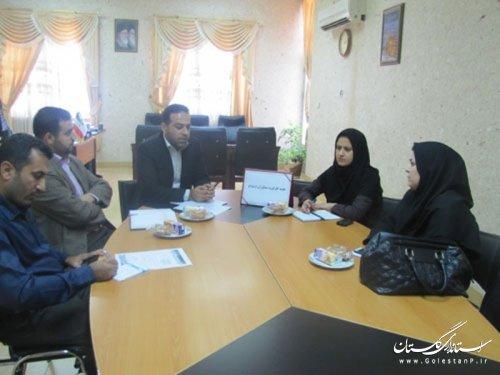 جلسه کارگروه مشاوران ازدواج استان گلستان