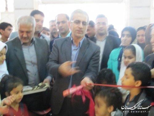 افتتاح نمایشگاه هنرهای تجسمی کودکان و نوجوانان با حضور فرماندار