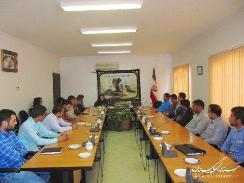 کمیته روستایی حوزه مشاوران جوان فرمانداری گنبد کاووس تشکیل شد