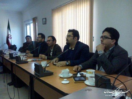 بررسی طرح توسعه گنبد کاووس توسط جوانان شهرستان