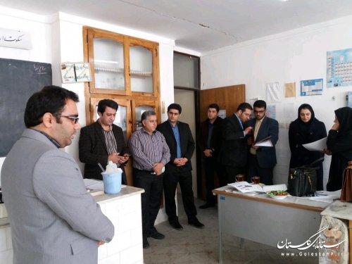 مسابقات علمی بین دانش آموزان مدارس کردکوی