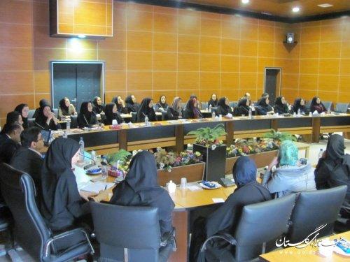 گزارش تصویری دومین نشست کمیته دختران و بانوان حوزه مشاوران جوان استانداری گلستان