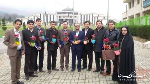 گزارش تصویری نشست تجلیل از تلاش های سال 94 مشاوران جوان فرمانداری های استان