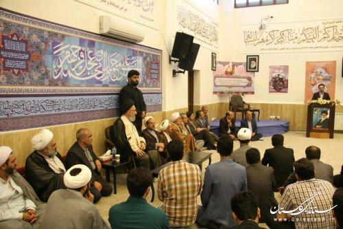 گزارش تصويري ديدار جوانان استان با حضرت آيت ا... نورمفيدي