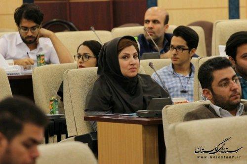 گزارش تصویری دومین نشست عمومی مشاوران جوان با حضور دکتر سیده فاطمه مقیمی